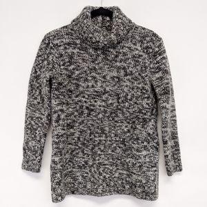 Sundance Sweaters - sundance | gray 3/4 sleeve turtleneck wool sweater